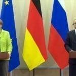 Putin y Merkel exponen visión sobre conflictos en Siria y Ucrania; Vídeo