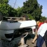 Sospechoso: Leyó ayer manifiesto en Azua, hoy jeepeta embiste su vehículo