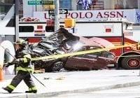 Dudan acto terrorista en atropello y asesinato de Times Square