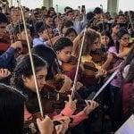 Venezuela: Sinfónica juvenil homenajeó a Armando Cañizales asesinado por Maduro