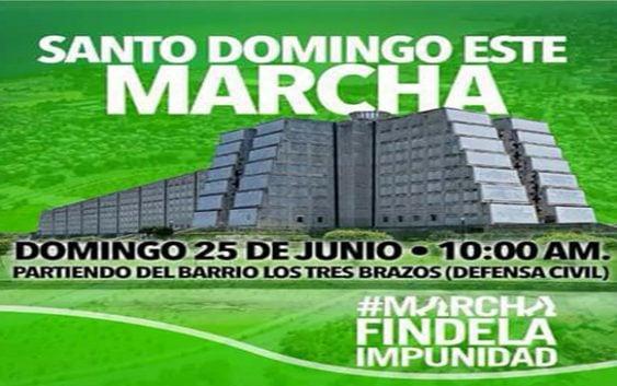 Luego del éxito en SPM Marcha Verde será el 25 en Santo Domingo Este; Vídeo