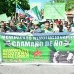 Marcha Verde Navarrete exige investigación financiamiento campañas PLD; Vídeo