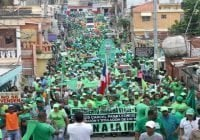 Miles participan Marcha Verde Los Tres Brazos contra corrupción y Fin de la Impunidad