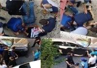 Pandilla policial abusa contra dominicano en Alto Manhattan que NO se resistió arresto; Vídeo