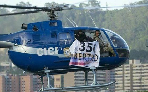 Desde helicóptero policial atacan Ministerio y Tribunal Supremo de Venezuela