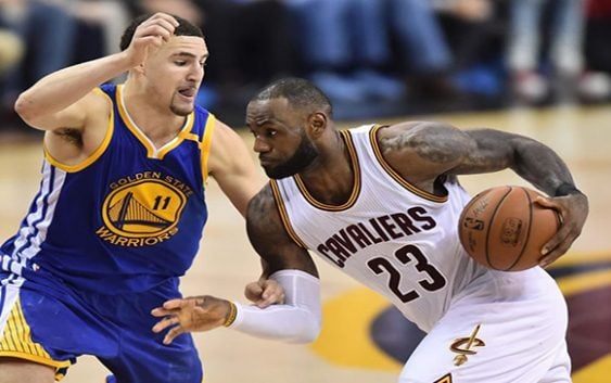 En la NBA Cavaliers domina los cuatro cuartos y le aguan la fiesta a los Warriors