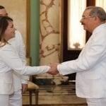 Presidente Medina recibe nuevos embajadores