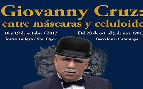 Giovanny Cruz: entre máscaras y celuloide