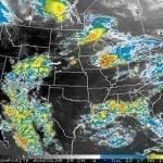 Onamet: Advierte altas temperaturas; Onda y Vaguada provocarán aguaceros