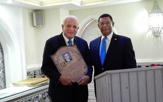 Pedro Díaz Ballester reconoce aportes alcalde de Miami; Apoya gestión de David Collado; Vídeo
