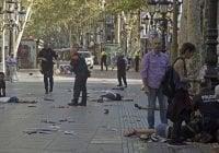 Maldito terrorista asesina en La Rambla de Barcelona 13 personas con furgoneta; Vídeo
