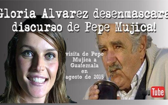 Gloria Álvarez desenmascara a Pepe Mujica por falso e incoherente; Vídeo