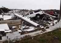 Huracán Harvey: A su paso por Rockport, Texas deja un muerto y destrucción; Vídeo
