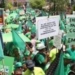 Multitudinaria Marcha Verde en Moca pide investigar a Amarante Baret; Vídeo