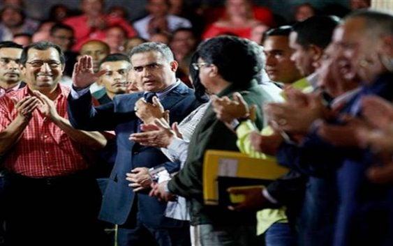 """Juramentan a Defensor de la Tiranía """"del pueblo"""" Tarek William Saab como fiscal general"""