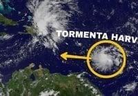Onamet y COE: Advierte inundaciones, deslizamiento y desbordamientos; Tormenta tropical Harvey avanza