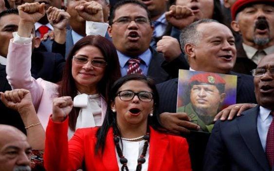 MIEDO y TERROR mostraron hoy Maduro, Delcy, Cabello, Lucena y la hueste de Vladimir Padrino