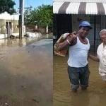 Inundaciones: Guayubín en emergencia tras penetrar ríos; casi toda Monte Cristi inundada; Vídeos