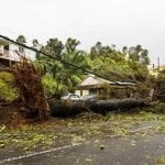 Centro Nacional de Huracanes: Advierte Puerto Rico no salir durante calma; Río se desborda; 100% sin energía; Vídeos