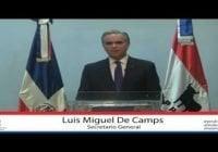 Presidente Abinader designa a Luis Miguel De Camps García como Ministro del Trabajo