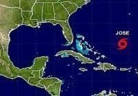 Onamet: Alerta Meteorológico; Vigilancia sobre depresión tropical 14 y tormenta José