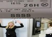 Atento…!!! Si su tarjeta de embarque a o desde los Estados Unidos tiene el código SSSS