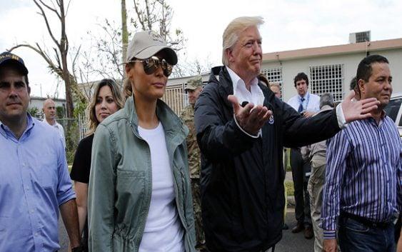 Puerto Rico: Donald Trump asume deuda de 74 mil MM; Juega baloncesto con rollos; Vídeo