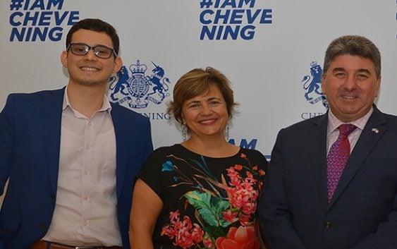 Embajada del Reino Unido en RD despide becarios Chevening 2017-2018