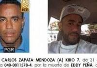 Por fin esta cosa a prisión; Un año a Kiko 7, asesino de Eddy Peña