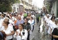 Miles de Católicos participan en Caminata Mariana 2017; Invitan el 19 a Caminata por la Familia; Vídeos