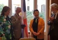 Ministro Toca Simó recibe galardón de institución italiana