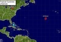 Onamet: Tormenta Ophelia; Avisos y alertas; Aguaceros por vaguada y onda tropical