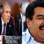 Venezuela: Almagro pide ONU actúe; Nada justifica ir de la mano de asesinos y torturadoreses