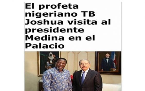 TB Joshua «El curandero» (Décima)