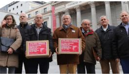 Change.org: Protesta de pensionados contra los políticos falsantes de España