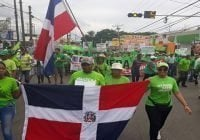 Marcha Verde: Denuncia en Mao y San Cristóbal corrupción y delincuencia política-militar en la frontera; Vídeo