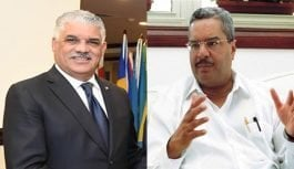"Vargas amenaza con destituir a César Mella; este lo califica como ""falta de respeto"""