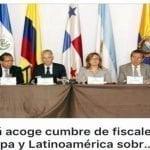 Cumbre de fiscales, Panamá (Décima)