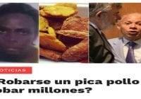 Millones o un «pica pollo» (Décima)