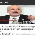 Roberto Rosario, el negocio del capa perro (Décima)
