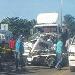 Imprudencia: Causa accidente en que pierden vida dos jóvenes