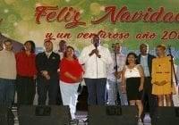 Ayuntamiento SDE y Junta de Vecinos de Villa Faro realizaron Encuentro Navideño
