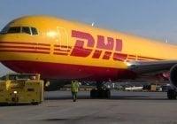 DHL inaugura vuelo desde Santiago hacia los Estados Unidos