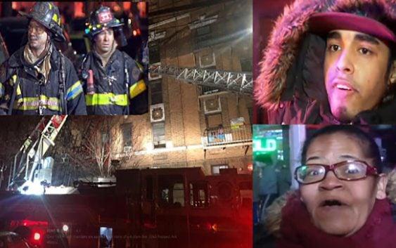 Tragedia: Incendio en NY deja 12 muertos y heridos graves, se cree hay dominicanos; Vídeo