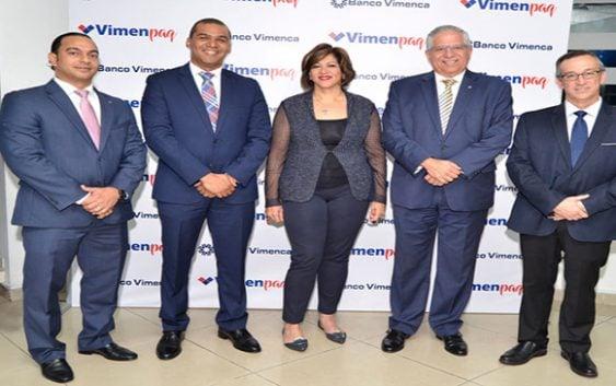 Vimenpaq y Banco Vimenca con tarjeta de crédito para compras por Internet