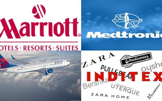 Super engreídos: China arremete contra Delta Airlines, Inditex, Marriott, Medtronic y Zara
