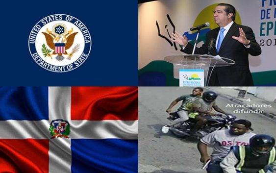 «Aislados»: Son hechos delincuenciales en RD por los que USA advierte a sus ciudadanos
