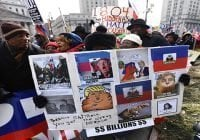 Manifestantes anti Trump exigen renuncia del presidente haitino Jovenel Moïse