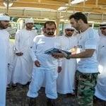 Karim se reúne con el Rey de Dubái con mira a su candidatura presidencial para 2020