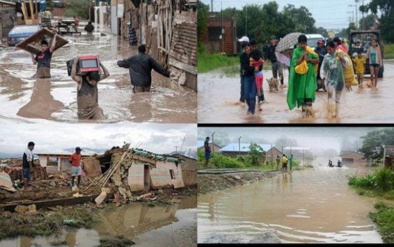 Bolivia: 15 mil familias afectadas, 8 mil en La Paz, 7 mil en Chuquisaca por lluvias; CR China dona